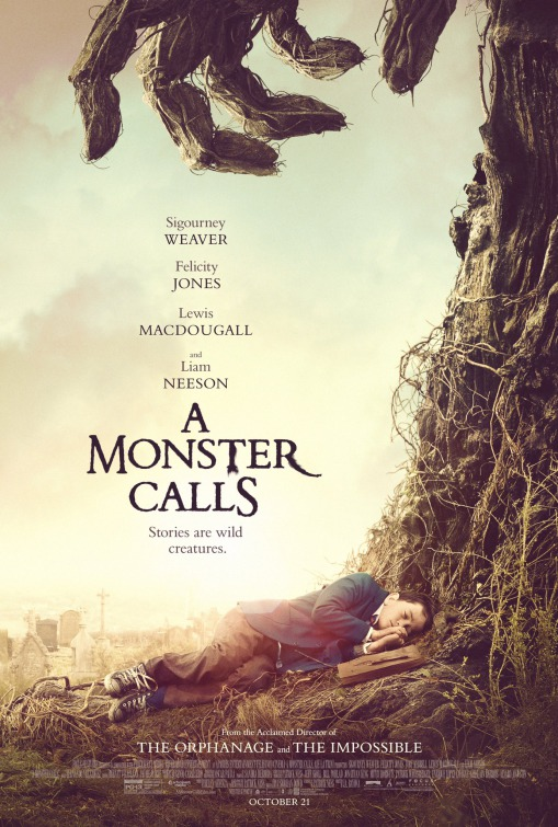 A Monster Calls movie poster