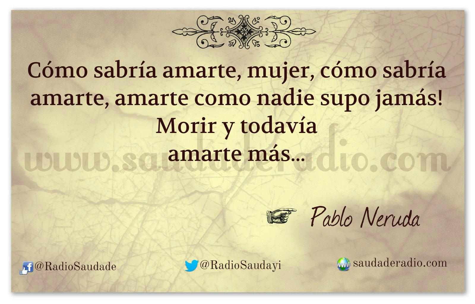 Ausencia Pablo Neruda