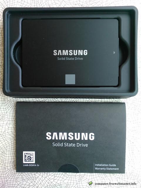SSD Samsung 860 EVO (MZ-76E250BW)