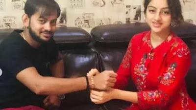 Deepika Singh celebrating pre Raksha Bandhan