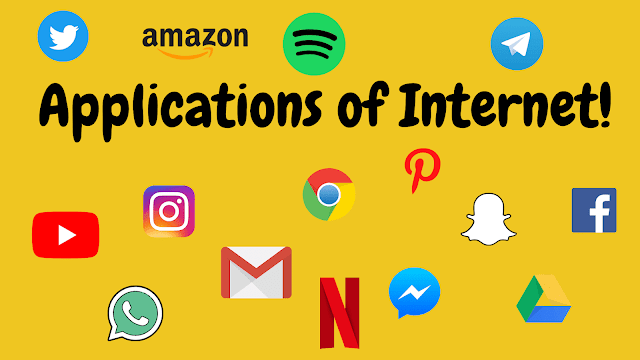 Applications and Terminologies of Internet