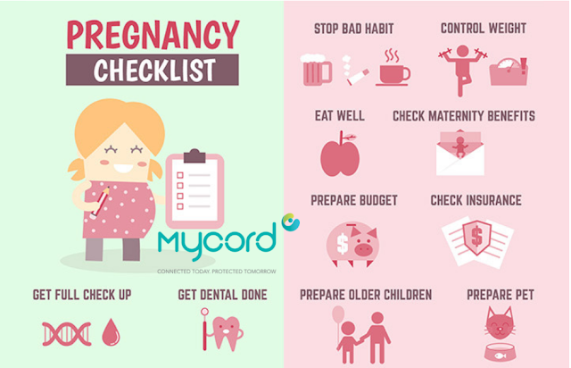 10 Tip Kehamilan  Sihat dan Selamat