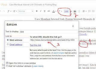 Cara Membuat Internal Link Otomatis di Posting Blog