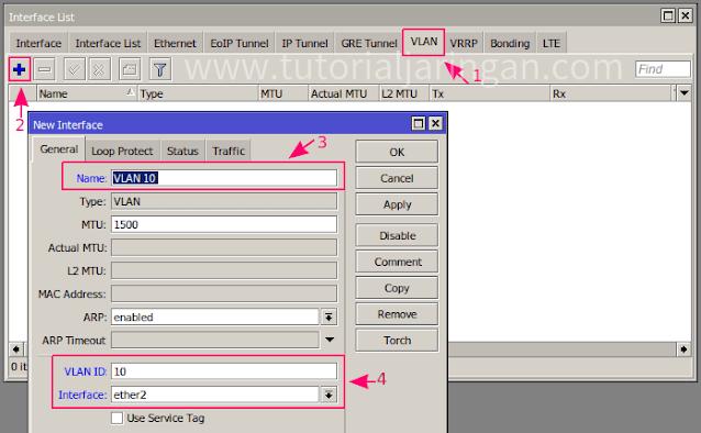 Tutorial Cara Setting VLAN di Switch HP ProCurve 2510-24