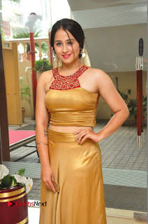 Actress Simrat Juneja Pictures in Golden Long Dress  0048.JPG