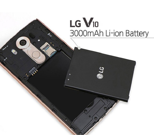 Thay pin LG v10