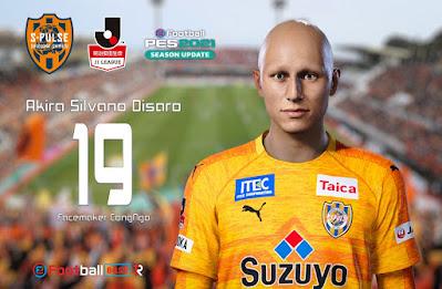 PES 2021 Faces Akira Silvano Disaro by CongNgo