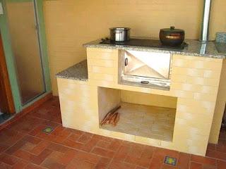 dapur bahan bakar tungku kayu