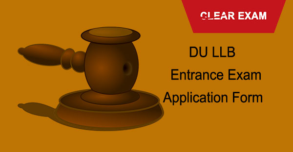 DU LLB Application Form