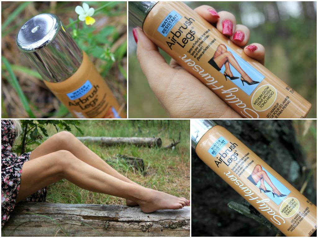 Отзыв: Makeup для Ваших ножек. «Невидимые чулки» с Sally Hansen Airbrush Legs Medium Glow.