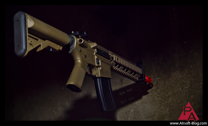 Elite Force Competition Series M4, Ares M4, Umarex Airsoft, Elite Force Airsoft Review, Pyramyd Airsoft Blog, Tom Harris Media,