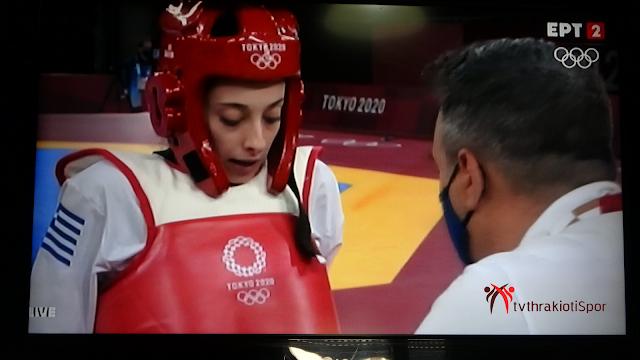 Στην πρώτη της ολυμπιάδα  Έβδομη Ολυμπιονίκης η Τζέλη στο ΤΑΕΚΒΟΝΤΟ