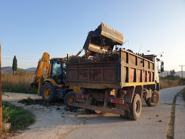 Μικρές χωματερές ξεφυτρώνουν σαν τα μανιτάρια - Σε εγρήγορση ο τομέας καθαριότητας στο Δήμο Ναυπλιέων