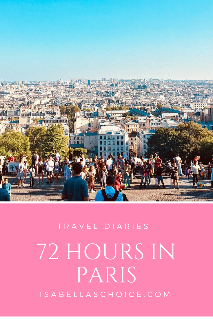 Paris in 72 Hours
