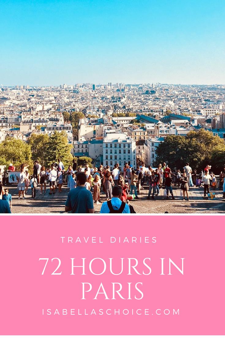 Paris in 72 Hours