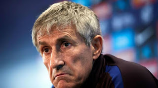 Barcelona manager Quique Setien places priority in the signing of Inter Milan ace over Neymar