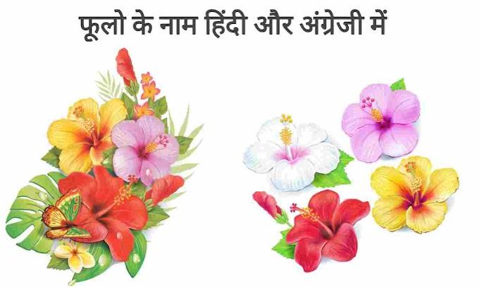 [PDF] Flowers Name in Hindi and English | 105 फूलो के नाम