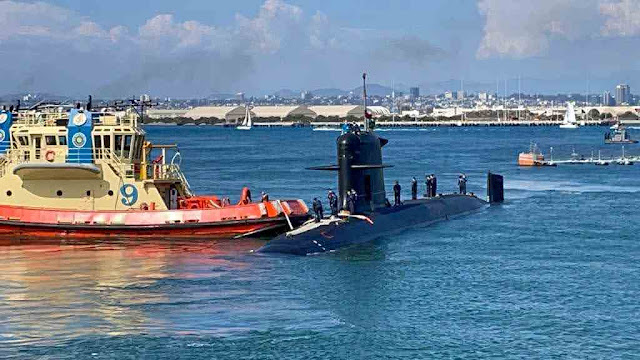 Submarino de ataque  SS-23 O´Higgins de la Armada de Chile ya esta en San Diego