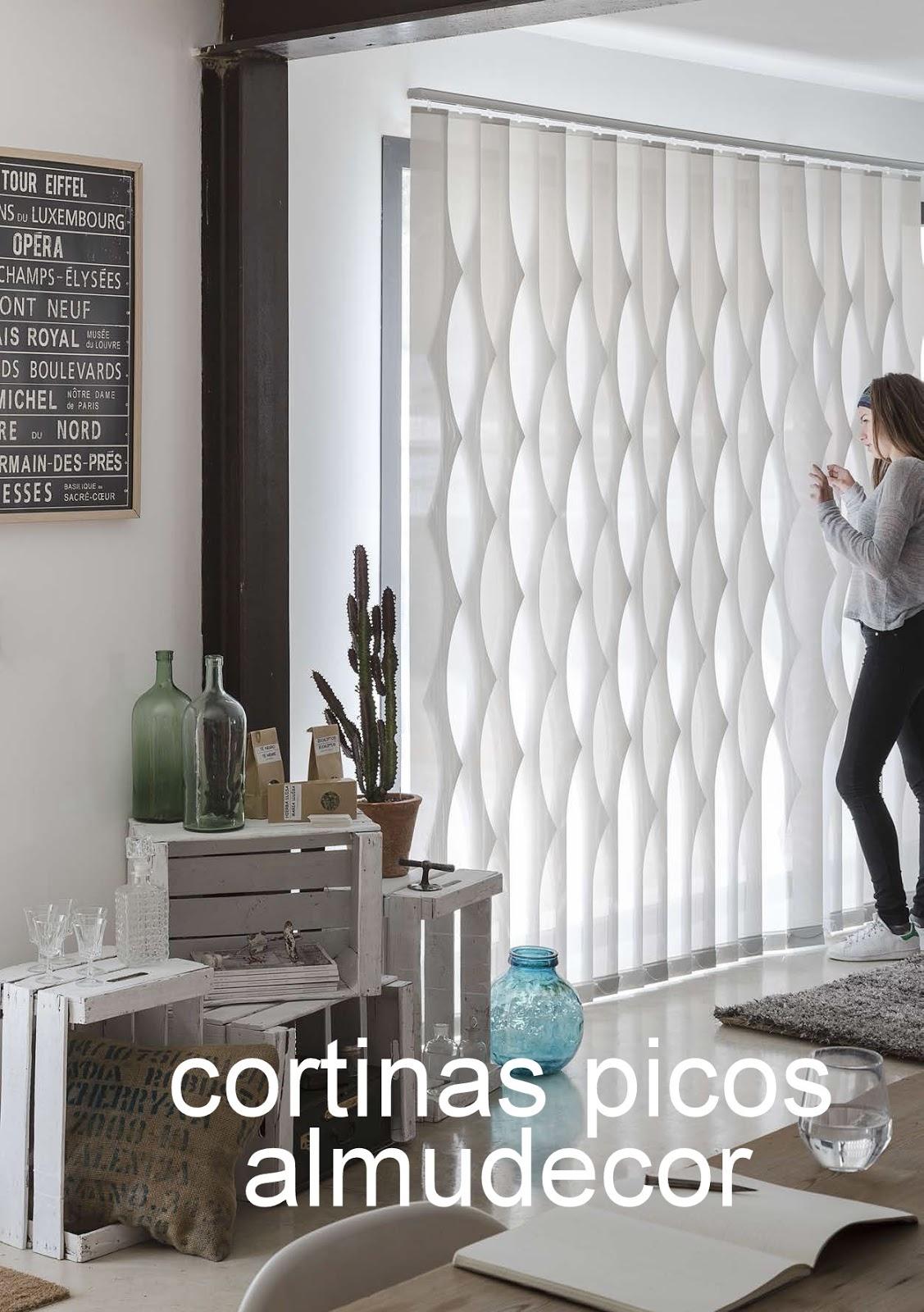 Cortinas Almudecor Interiorismo: Nuevas CORTINAS VERTICALES ...