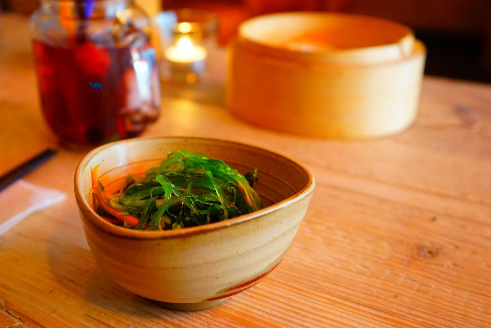 Le Chameau Bleu - Salade de Wakamé