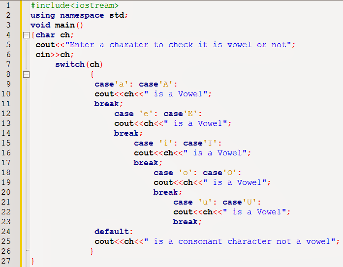 Switch statement in c programming c programming - Switch case java ...
