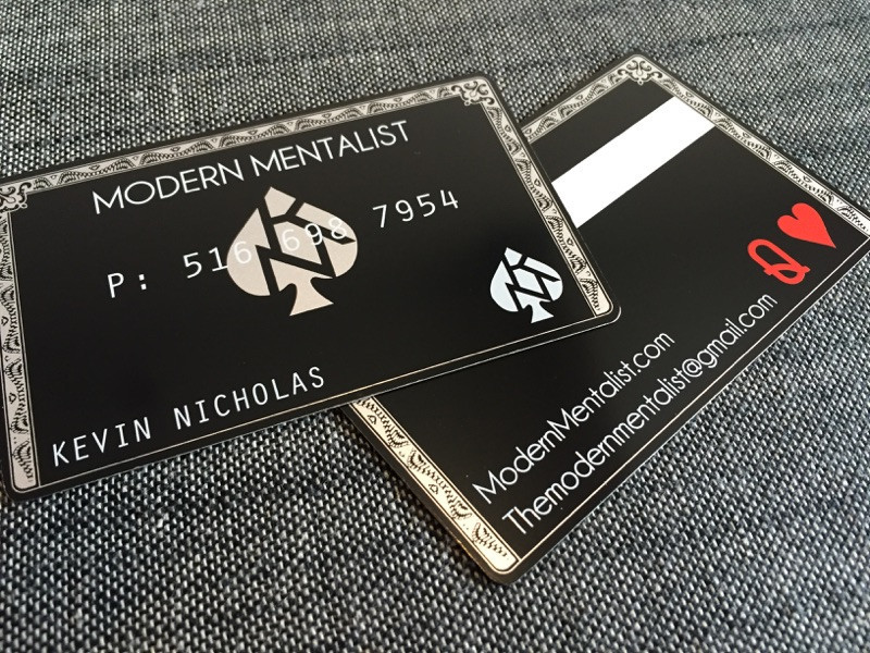 Meta Business Cards | Unique Business Cards