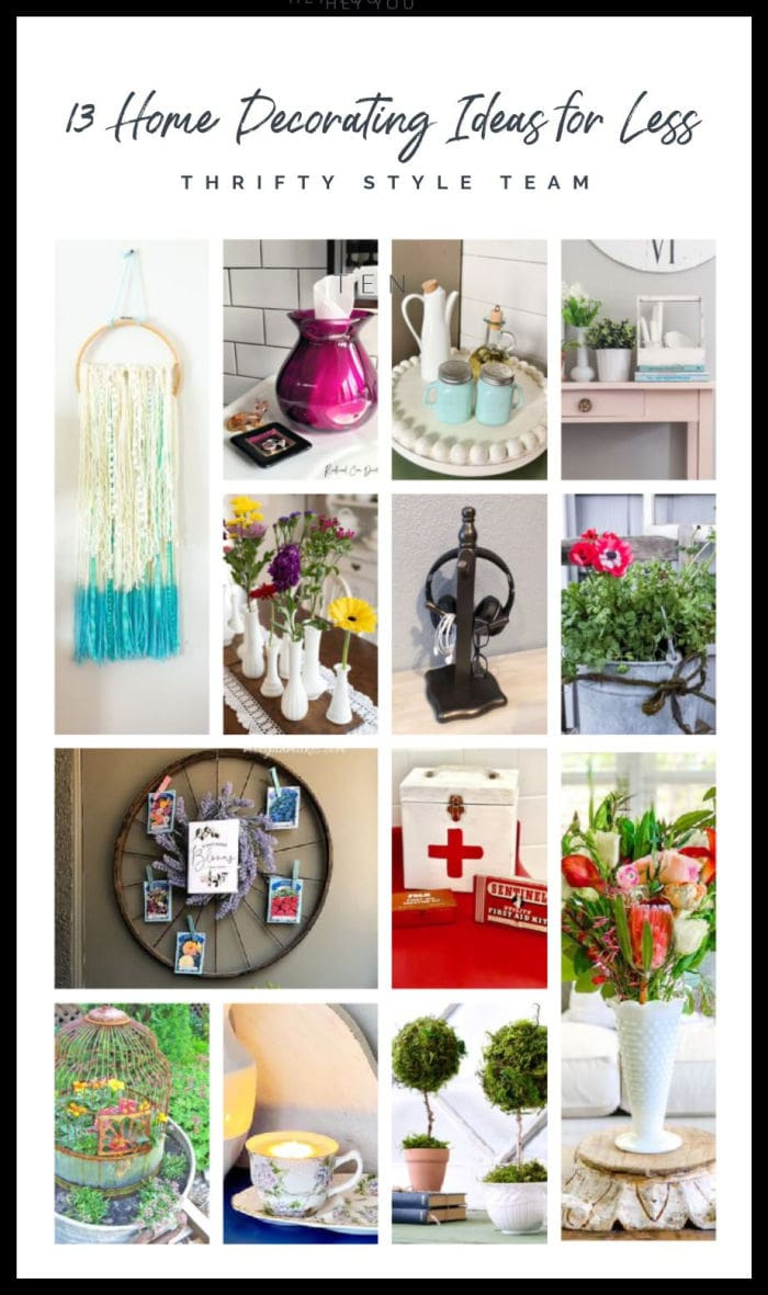 Thrifty Style Team home decorate ideas for less