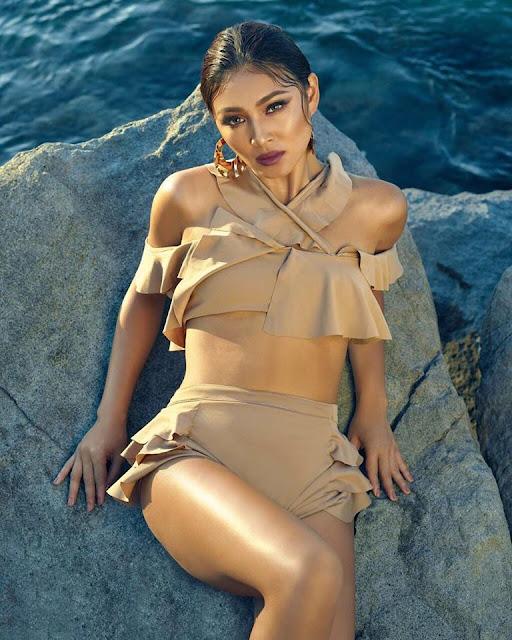 Nadine Lustre on Mega Magazines April 2018 Cover Girl