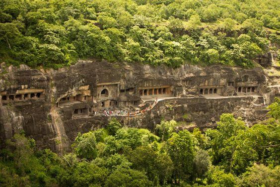 Ajanta Mağaraları/Hindistan-Maharashtra