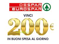 Logo ''Vinci con Despar'': in palio 42 buoni spesa da 200€