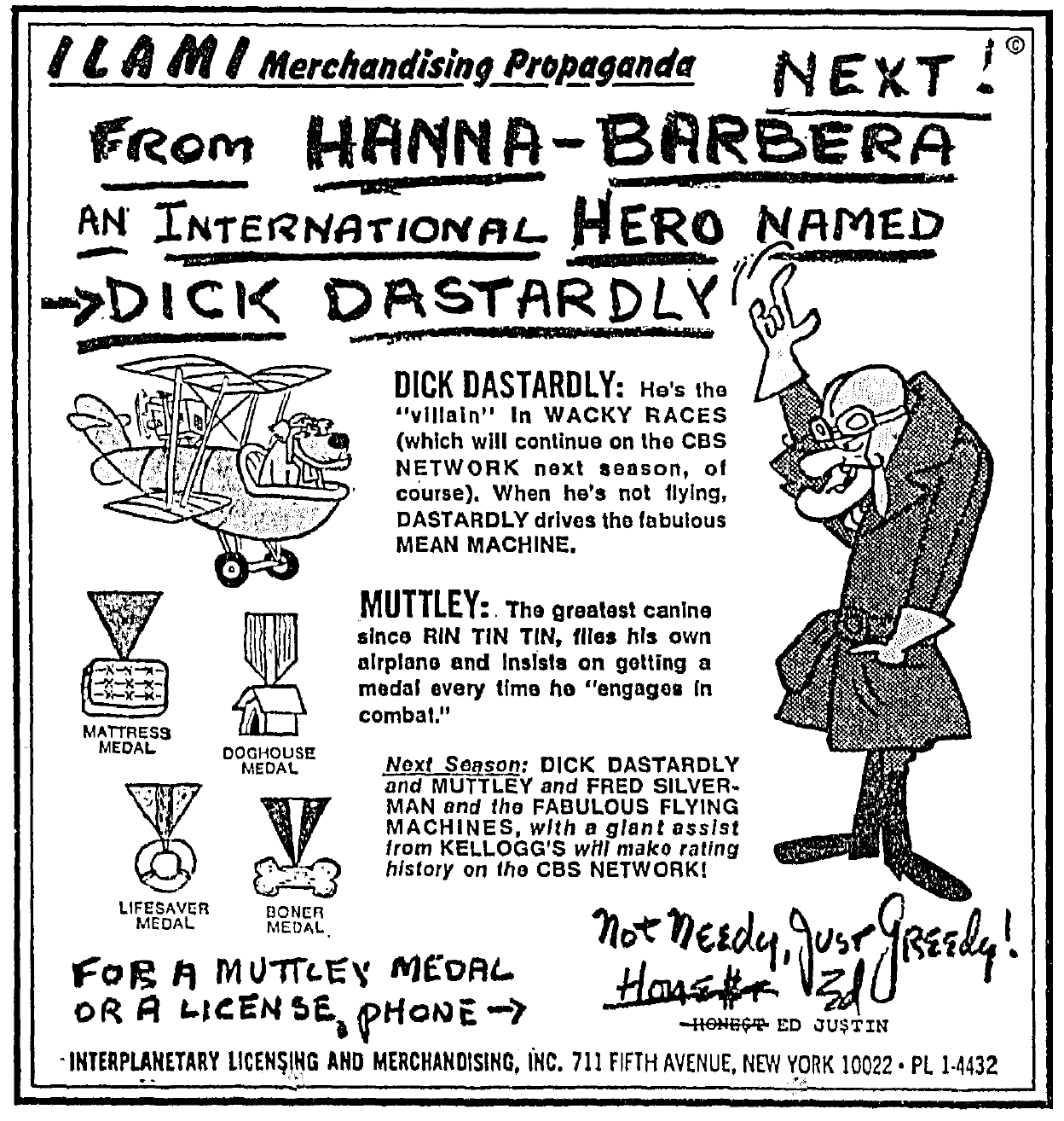 Yogi Bear Hanna-Barbera Movie//TV Character Million Dollar Novelty Money