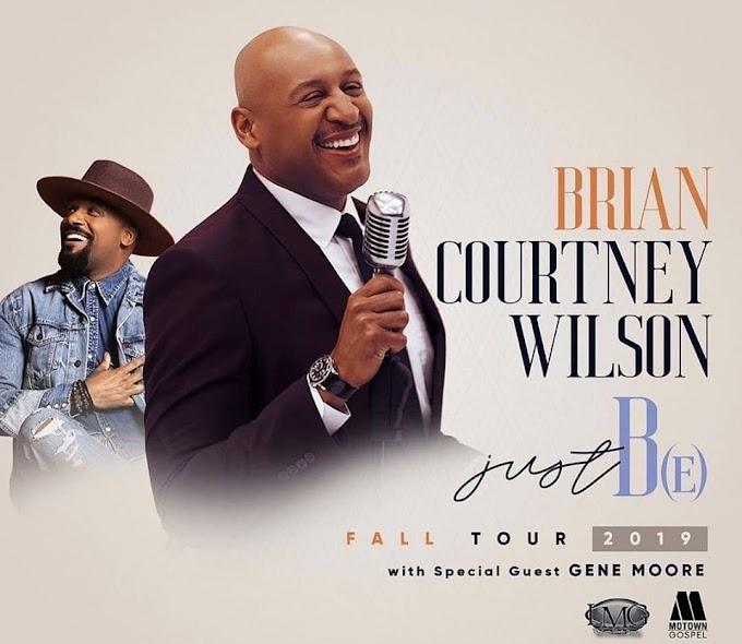 Brian Courtney Wilson - Just B(E) Fall Tour 2019