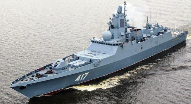 Fregat Admiral Gorshkov Rusia