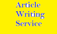 Image: article writing service