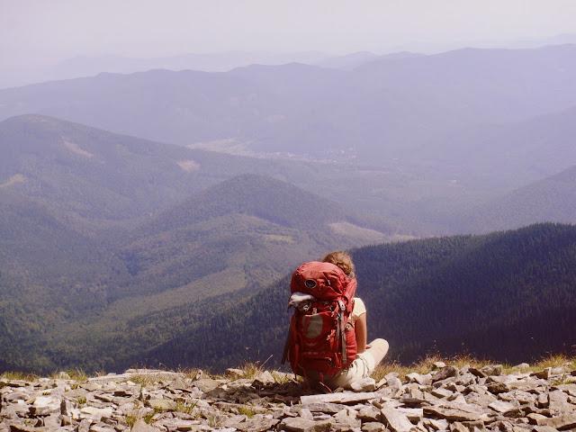 góry; Ukraina; ukrainian girl