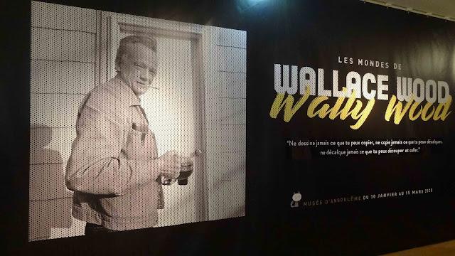 Exposition FIBD 2020 Tsuge Woods Musée angoulême Les mondes de Wallace Woods