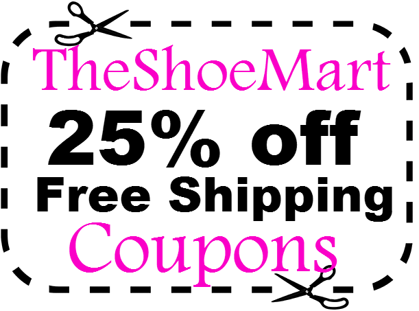 TheShoeMart 25% off & Free Shopping Promo Code March, April, May, June, July, August, September 2016, 2017