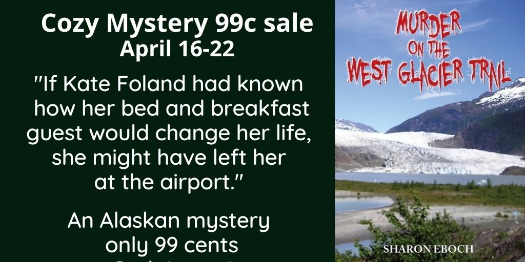 "A cozy Alaskan #mystery - #99cents April 16-22 - ""A fun story with a great sense of local flavor."" #bookbuzz"