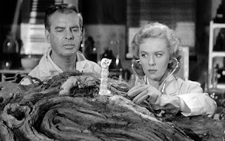 John McNamara and Tina Carver in From Hell It Came (1957)