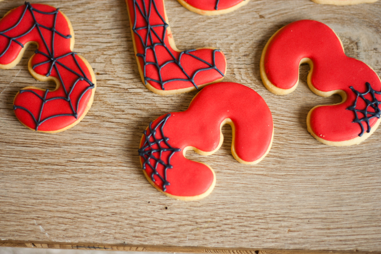 Tutorial De Galletas Decoradas Con Glasa La Cocina De Carolina: Galletas De Spiderman, Tutorial