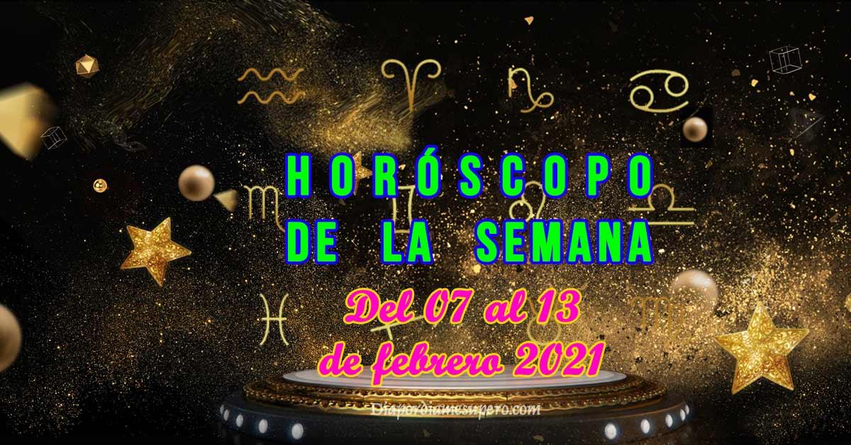 Horóscopo de la semana: Del 7 al 13 de febrero