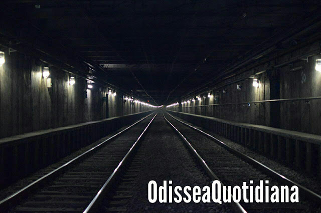 Sotto il bunker della Metro A