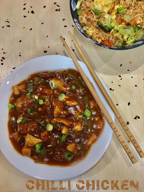 Chili Chicken( Gravy )