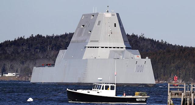 Marinha terá armas laser