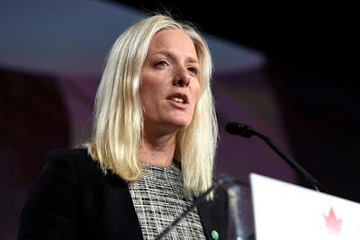 Catherine McKenna, Canadian Minister for Climate Change
