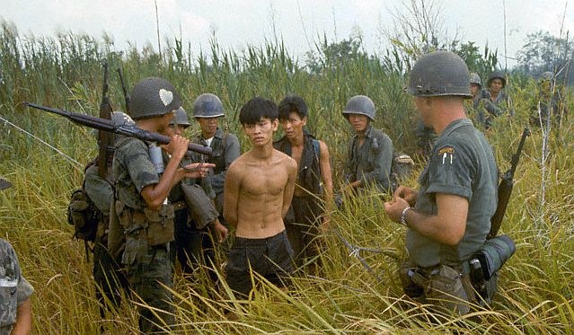 Vietcong fighters highly motivated
