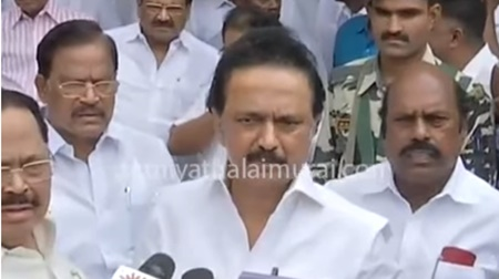 DMK candidate for RK Nagar election announced