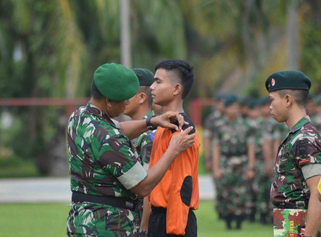 308 Mahasiswa Unsam Bela Negara di Raider khusus 111