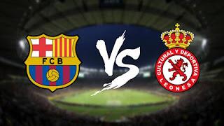 كورة لايف   موعد وتشكيل مباراة برشلونة وكولتورال ديبورتيفا ليونيسا اليوم 5-12-2018