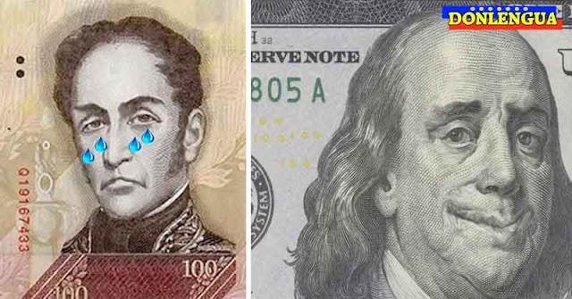 BOLÍVAR FALLECIÓ | 70% de las compras son hechas con Dólares Americanos